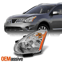 Fits 2008-2014 Rogue Headlight Driver Left Side Replacement Factory HID Type