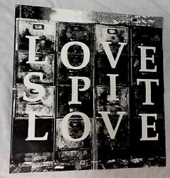 1995 vtg THE PSYCHEDELIC FURS RICHARD BUTLER LOVE SPIT LOVE double sided poster