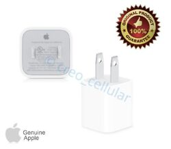 iPhone USB Power Wall Cube Apple Original Charger Adapter Plug A1385 AUTHENTIC $7.99