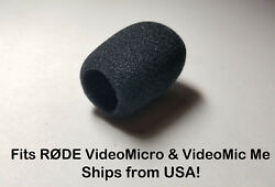 Foam Windscreen Muff Shield Cover for RODE VideoMicro VideoMic Me USA SELLER   $14.95
