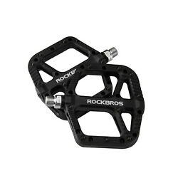 ROCKBROS Mountain Bike Pedals Nylon Composite Bearing 9 16quot; MTB Bicycle Pedals $23.99