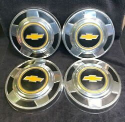 Vintage 1970's 1979 1980 Chevy 12 Ton 2WD Pickup Truck Dog Dish Hubcaps