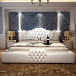1.5 or 1.8m bed leather home soft leather bed for bedroom set CE-097