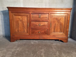 Antique and Elegant Charles X Sideboard in Cherrywood - Restored (in progress)