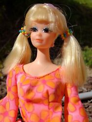Vintage talking barbie P.J in original outfit complete mint condition she talks!