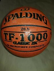 Spalding TF 1000 Classic ZK Womens 28.5quot; Microfiber Composite Basketball $39.95