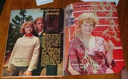 1961 TV MAGAZINE GUIDE~DOROTHY MALONE~MARJORIE LORD~ DOUG McCLURE~MITCH MILLER