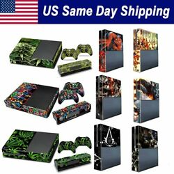 Vinyl Decal Skin for Xbox One Console Controller Protector Cover Sticker