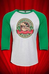 Moosehead Beer Vintage 1980s Jersey Tee T SHIRT FREE SHIP USA $21.99