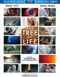 The Tree of Life (Blu-rayDVD 2011 3-Disc Set Includes Digital Copy) - NEW
