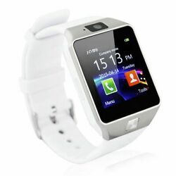 Bluetooth Smart Wrist Watch Phone Android Samsung HTC Camera SIM Memory card
