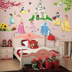 Girls Stickers Wall For Kids Living Room Height Measure Decoration Accessories $9.99