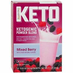Wonder Slim KETO Ketogenic Powder Blend - Keto weight loss mental clarity