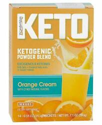 WonderSlim KETO Ketogenic Powder Blend Drink Mix (Orange Cream) - Fat Burner