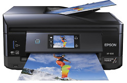 Epson XP-830 Wireless Color Photo Printer with Scanner Copier & Fax $389.00