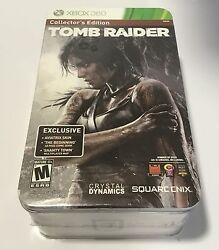 XBOX 360 TOMB RAIDER COLLECTOR'S EDITION! INCLUDES PLAY ARTS KAI LARA CROFT! NEW