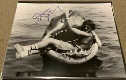 Steven Spielberg  SIGNED Jaws In bruce shark Mouth RARE 16x20  K9 holo