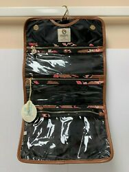 Brand New Spartina 449 Traveler Hanging Cosmetic Case Verdier 275124 NWT