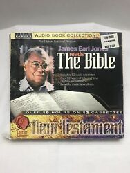 James Earl Jones Reads The Bible 12 Cassettes Over 9 Hours Box Novelty Religious $18.99