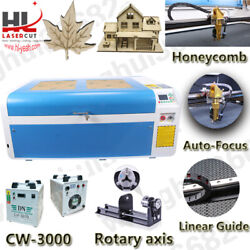 1060 100W Laser Cutter Engraving Machine DSP System with Auto Focus Linear guide