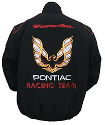 PONTIAC -- TRANS AM - RACING-ALL BLACK  JACKET