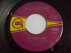 The Temptations You're My Everything  I've Been Good To You 45 '67 Vinyl Record