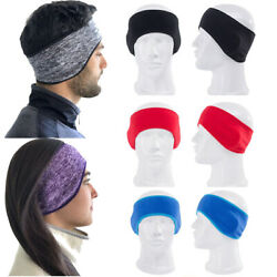 Ear Warmer Cover Headband Winter Sports Headwrap Fleece Ear muffs For Men Women