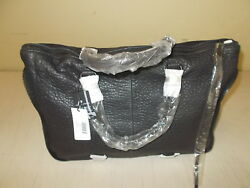 She + Lo Women's Rise Above Satchel Black- NEW WITH TAGS!