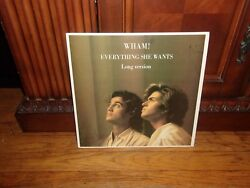 WHAM! - EVERYTHING SHE WANTS(Long Version) - Columbia 44-05180