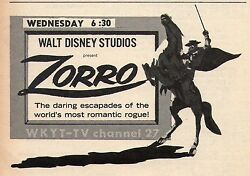 1967 LOUISVILLE KENTUCKY TV GUIDE~DOROTHY MALONE~ZORRO~BOONESBOROUGHKY