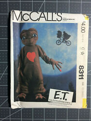 McCall's #8311 ~ Pattern E.T. The Extra-Terrastrial ~ Child XS 2