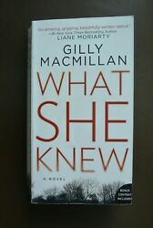 What She Knew - Gilly MacMillan - Paperback PB Softcover