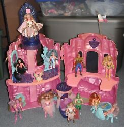 Vintage She-Ra Princess Of Power Crystal Castle 1985 WFigures Horses Etc.Lot
