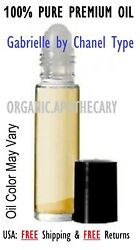 Gabrielle by Chanel Type Perfume Body Oil for women 0.3 oz 10 ml rollon New!
