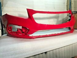 2015 CHEVY CRUZE FRONT BUMPER OEM PAINTED RED HOT 94525910 2016 LIMITED MODEL