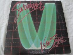 SURVIVOR VITAL SIGNS VINYL LP ALBUM 1984 SCOTTI BROTHERS RECORDS HIGH ON YOU EX