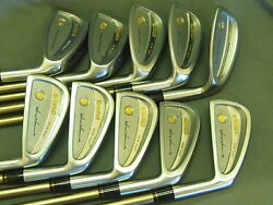 Honma Mens LB708 New H&F golf iron 18K gold 4stars Feather Weight Excellent!