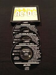 ACDC BOX SET CD X 3 HIGHWAY TO HELL ALBERT PRODUCTIONS PROMO AUSTRALIA PRESS