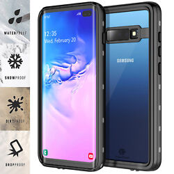 For Samsung Galaxy S10 Plus Case Waterproof Shockproof Heavy Duty Armor Cover $15.98