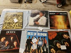 Vinyl records lp rock lot 12 records all are almost mint condition