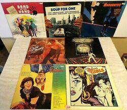 123 Lot 7 Soundtracks+Band Of The Hand PROMO+Manhunter+Saturday Night Fever+Soup