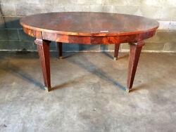 Antique and Elegant Louis XVI Oval Table - Restored (in progress)
