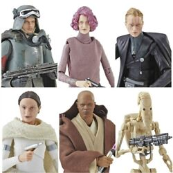 Star Wars The Black Series 6-Inch Action Figures Wave 20 [Buy one or Bundle]