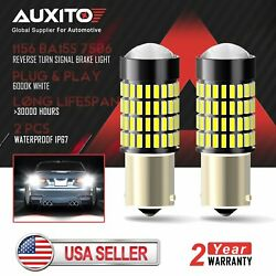 2X AUXITO 1156 7506 Super Bright 102 SMD LED Reverse Back Up Light Bulbs 6000K d $16.68