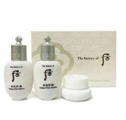 The History of Whoo Gongjinhyang Seol Radiant White 3pcs Special Gift Kit  $13.95