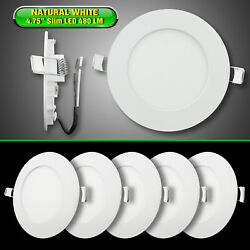5 x 4.75quot; LED RECESSED DOWN LIGHT INTERIOR CEILING FOR RVs BOATS 12V NW $34.95