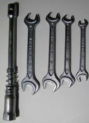 Vintage Mercedes Toolkit Wrench Set 17 19 14 17 11 13 8 10 Lug Wrench Heyco $74.95
