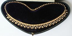 Stunning Victorian 15ct Gold Sead Pearl Necklace (R3047)