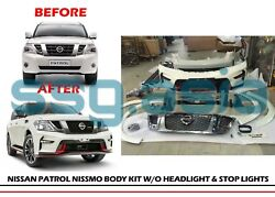 for Nissan Patrol Nismo Body Kit (without Headlight and Stop Lights)