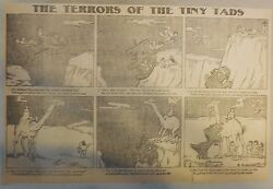 The Terrors of the Tiny Tads by Gustave Verbeek from ?1905 Half Page Size!